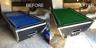 refelting a pool table pool table recovery 159 anywhere in london recovering recloth