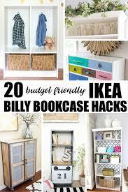 ikea billy bookcase hack 20 budget friendly ikea billy bookcase hacks billy bookcase hack
