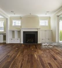 Built In Shelves Living Room Fireplace And Builtin Shelves In Living Room Stock Photo