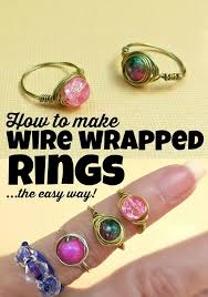 make jewelry rings images 20 easy step by step diy tutorials for making a ring pretty designs jpg