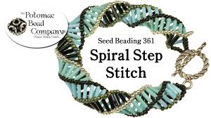 beaded bracelet make necklace images Make spiral step jewelry necklace or bracelet jpg