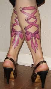 flirty bow tattoo designs