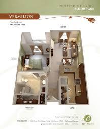 independent living options at bellarose senior living in tulsa