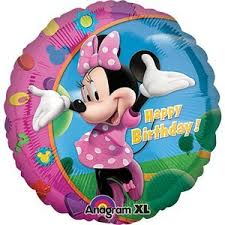 inflated balloons delivered minnie mouse balloon delivered inflated in a box by