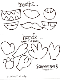Halloween Monster Hands Halloween Monsters Templates U2013 Halloween Wizard