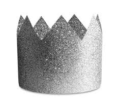 party hats crown party hats silver glitter delight department