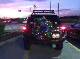 Christmas Lights For Cars Christmas Lights On The Roof Rack Page 9 Toyota Fj Cruiser Forum