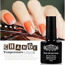 perfect summer uv led temperature colors changing gel nail polish