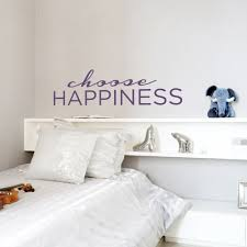 choose happiness wall decal quote wallums choose happiness wall decal quote