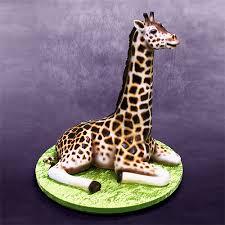 giraffe cake how the 3d giraffe cake was made yeners way