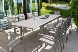 table de jardin haut de gamme table extensible design table de jardin extensible