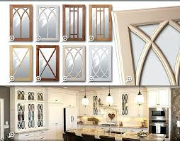 Kitchen Cabinet With Glass Doors Kitchen Cabinet Glass Doors Fronts Casablancathegame