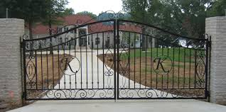 Patio Door Gates by Wrought Iron Gates