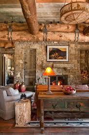Magnificent Interior Design Ideas For Log Cabins Using Antique - Log cabin interior design ideas