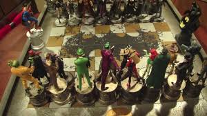 Cool Chess Pieces Batman Chess Collection By Eaglemoss Youtube