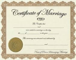 image of marriage license marriage license wedding decorations