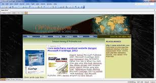 membuat web sederhana dengan javascript cara sederhana membuat website dengan microsoft frontpage 2003 moh