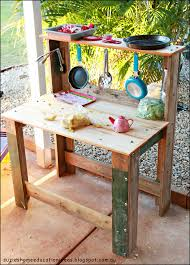 green outdoor play kitchen suzies home education ideas our diy