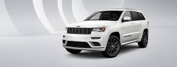 white jeep 2018 2018 jeep grand cherokee high altitude limited edition suv