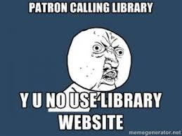 Yu No Meme Generator - use of memes in libraries social media and librarianship