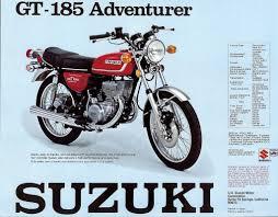 suzuki 185 motorbikes vintage motorcycles and mopar