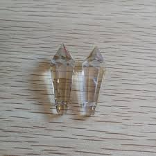 38mm 200 units cognac crystal chandeliers parts glass suncatcher for lamps glass crystals drop for chandeliers