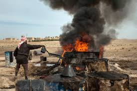 sunni tribes take over oil smuggling in eastern syria huffpost