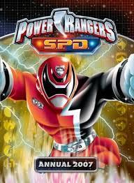 power rangers annual 2007 jo strange