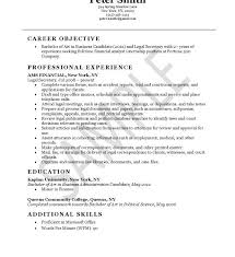 Secretary Resume Winsome Inspiration Legal Secretary Resume 4 Secretary Resume