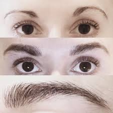 semi permanent eyebrow make up face clinic london