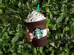 Pumpkin Frappuccino Starbucks Caffeine by Starbucks Midnight Mint Mocha Frappuccino