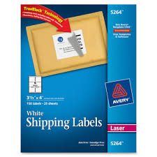 avery 5264 easy peel white shipping labels permanent adhesive 3