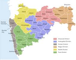 Map Of 50 States With Names by List Of Districts Of Maharashtra Wikipedia