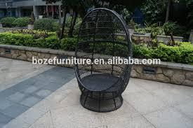 Patio Furniture Swivel Chairs Outdoor Garden Patio Wicker Furniture Swivel Chair Hanging Rattan