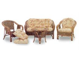 divanetto vimini cuscini per salotto vimini tavolino salotto salottino in