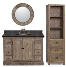 Single Sink Bathroom Vanity by Legion 48 Inch Rustic Single Sink Bathroom Vanity Wk1848 Marble Top