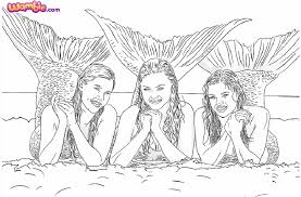H2o Coloring Pages H2o Coloring Pages Bebo Pandco