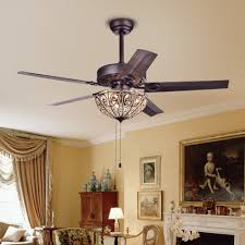 Dining Room Ceiling Fans With Lights Traditional Chandelier Ceiling Fan Light Bronze Living