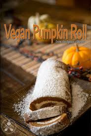 vegan pumpkin roll gluten free vegan thanksgiving dessert