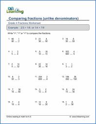 printable fraction worksheets for grade 4 grade 4 fractions worksheets free printable k5 learning