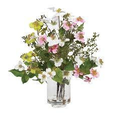 artificial flower summer floral arrangements florals silk arrangements