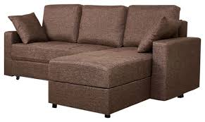 Sofa Bed Sectional With Storage Aspen Convertible Sectional Storage Sofa Bed Contemporary