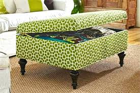 Storage Ottoman Upholstered Footstool Coffee Table Storage Upholstered Coffee Table Ottoman