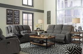 ashley 3 piece krismen adjust headrest power reclining sofa set
