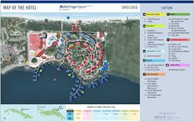 Cocoa Beach Map Melia Cayo Coco U2013 Cayo Coco Transat
