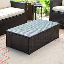 Wicker Storage Ottoman Coffee Table Rattan Storage Ottoman Rattan Ottoman Coffee Table Ottoman