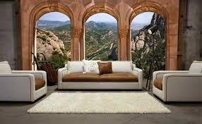 tapisserie salle a manger trompe l u0027oeil wall murals murales en papier peint trompe l u0027oeil