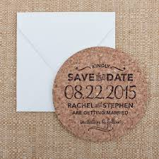 save the date coasters custom sted cork coaster save the date