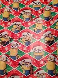 minion gift wrap 10 festive wrapping paper prints for your gift wrapping