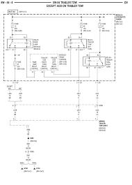 dodge truck trailer wiring diagram 2
